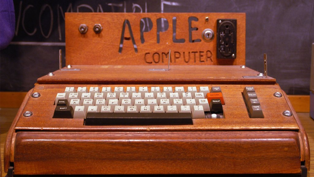 Apple1, la computadora portátil que lo empezó todo