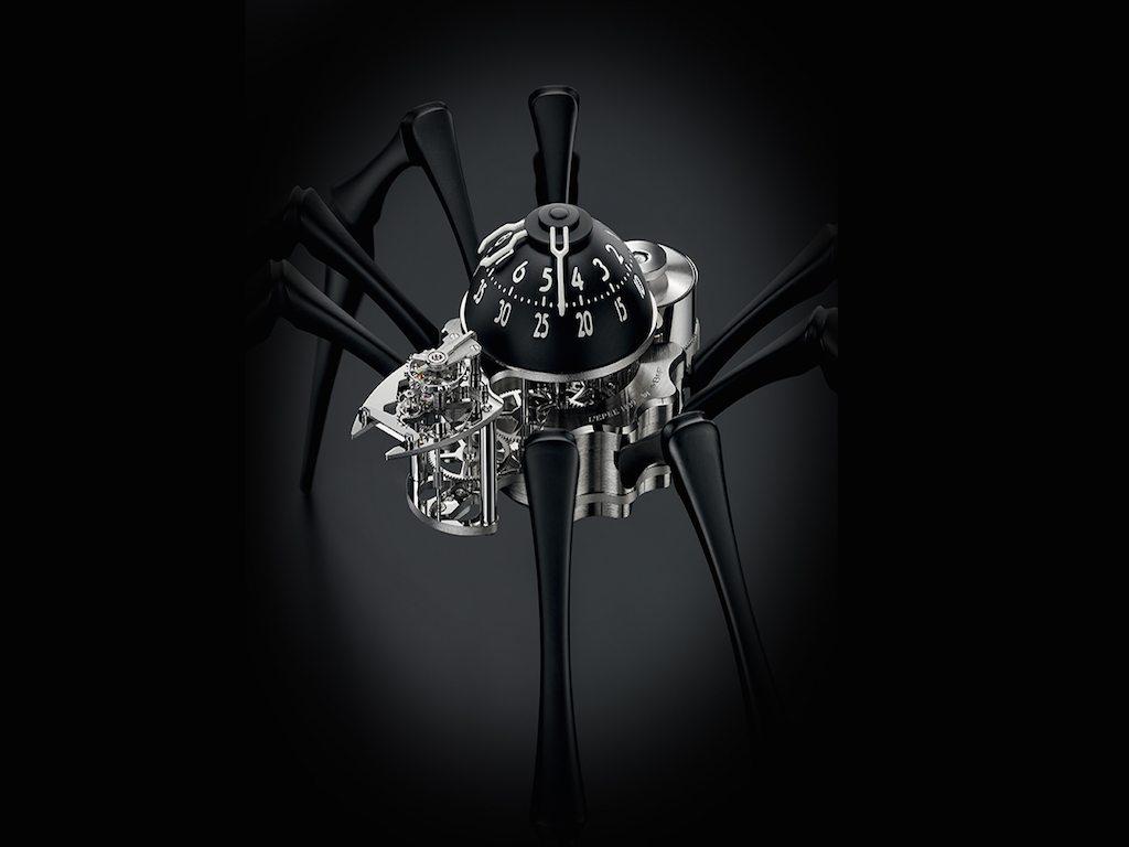 El lujoso reloj araña: MB&F Arachnophobia
