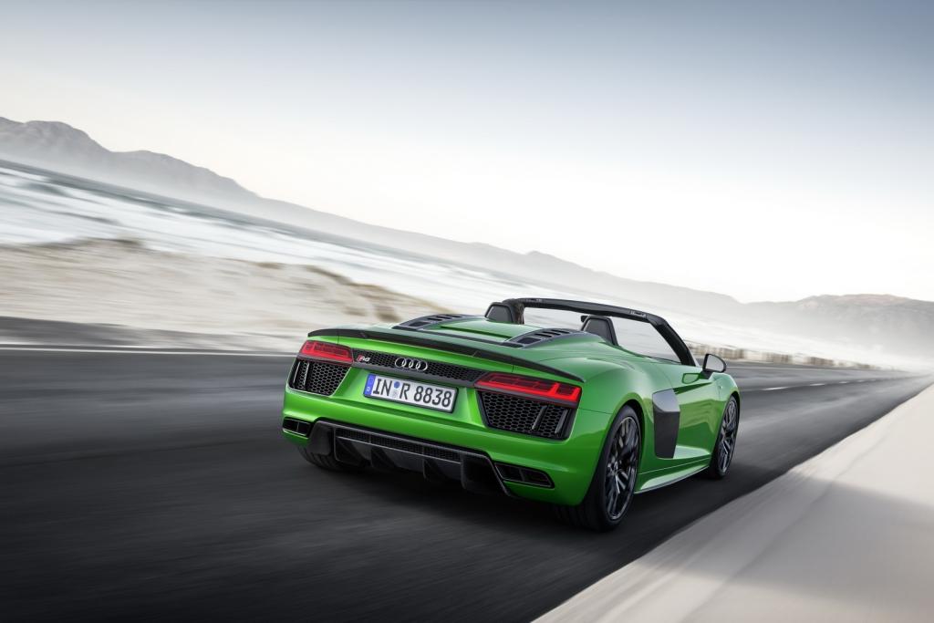 audi r8 v10 spyder plus 8 1024x683 - ¿Buscas un nuevo deportivo para 2019? Audi tiene lo que necesitas