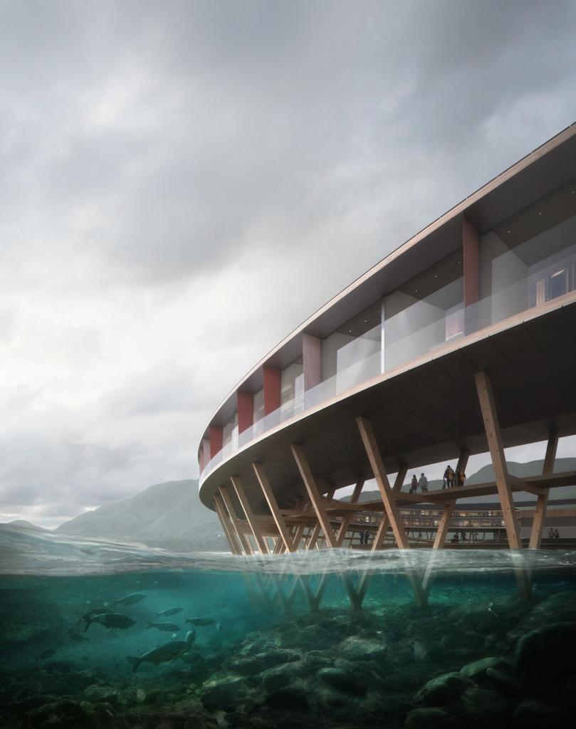 b83667e0fc2cefd15f1f2319848cebbe 2048w 809x1024 - Conoce Svart, el hotel de 360 grados en Noruega