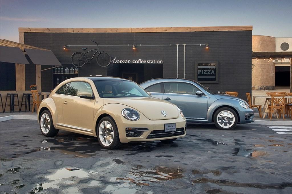 Con estas ediciones especiales se despide el icónico Beetle
