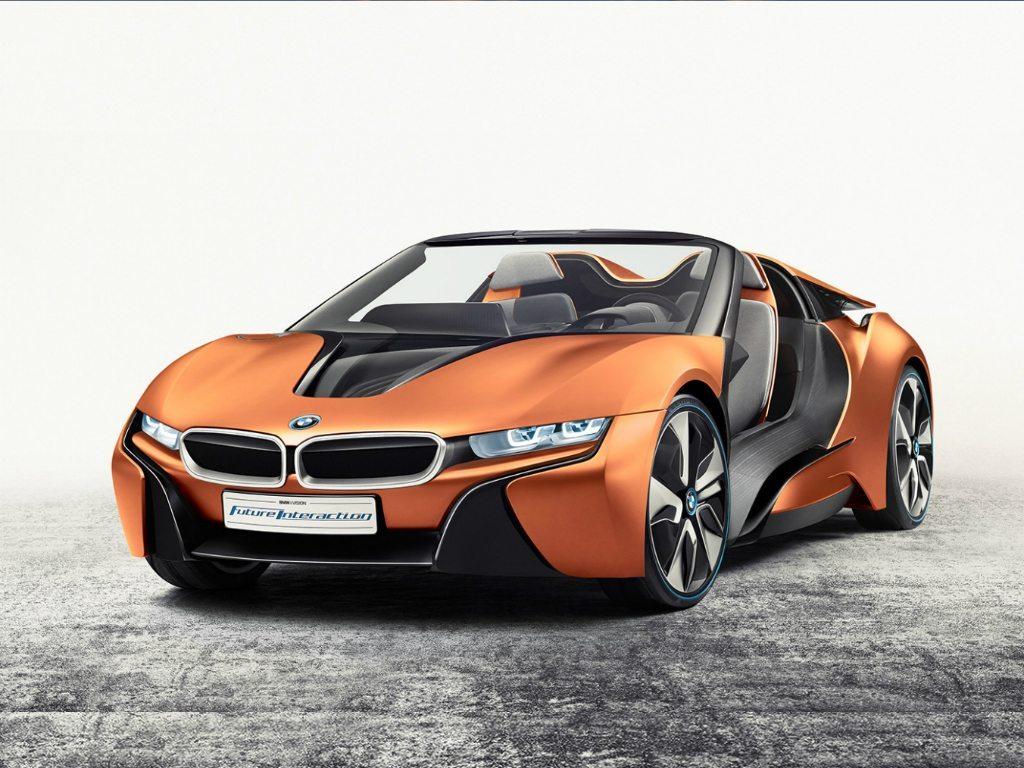 El auto concepto que presentó BMW en el CES