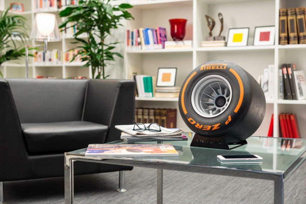Pirelli P Zero Sound, el altavoz favorito de los fanáticos de la F1