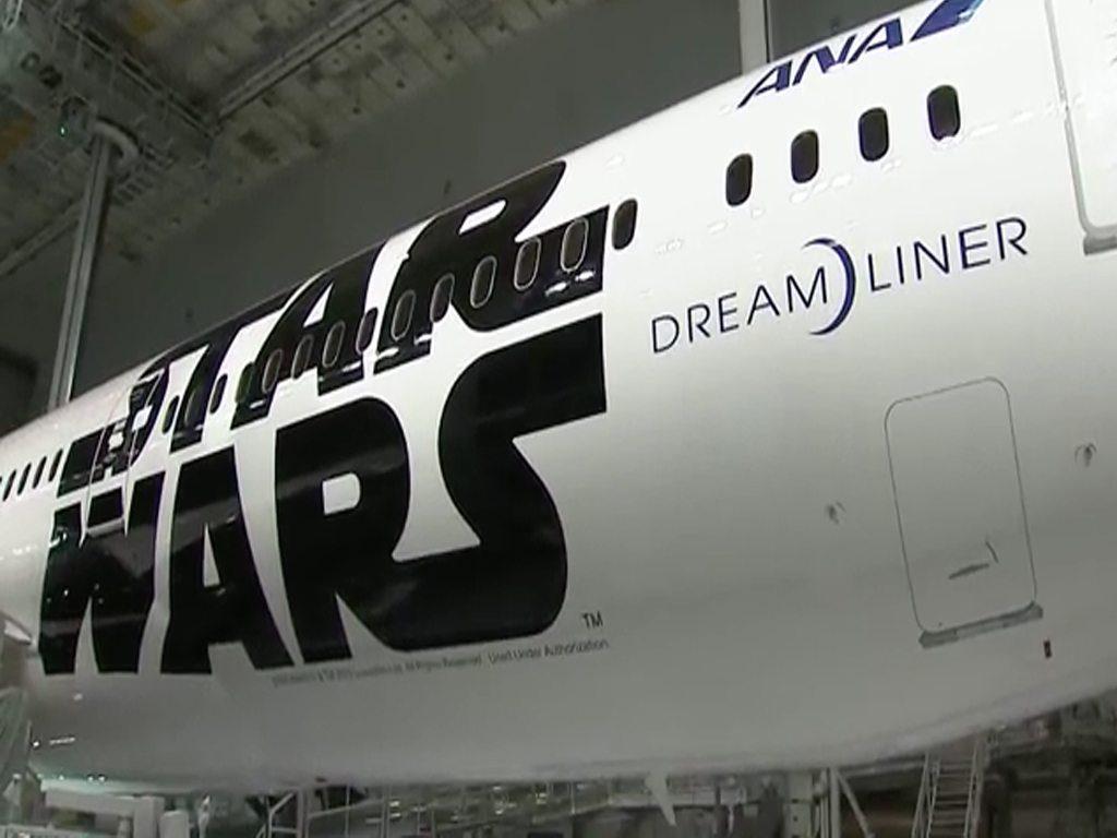 Boeing presenta flota de Star Wars