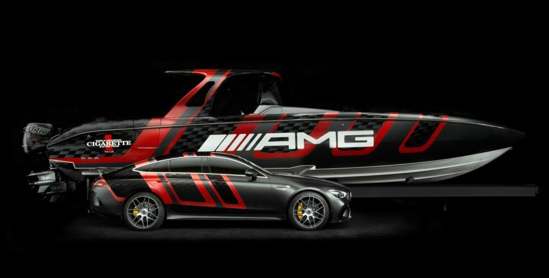 bote m 1 - Mercedes-Benz AMG GT 63 S llega en su flamante versión para el océano