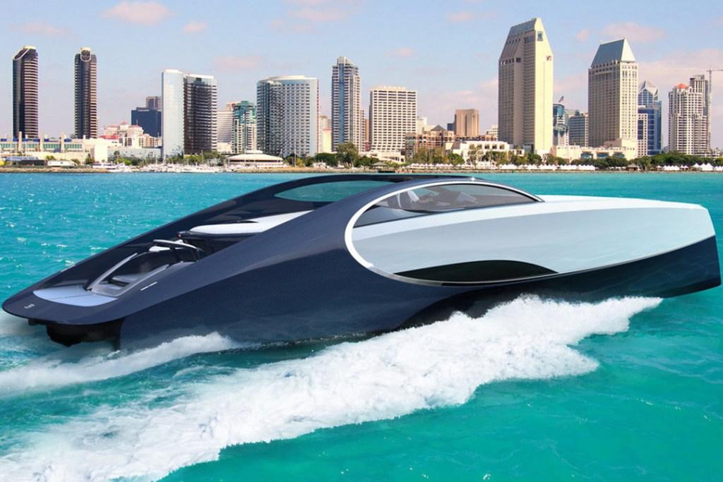 Este es el yate con el que Bugatti pretende convertirse en el rey del océano