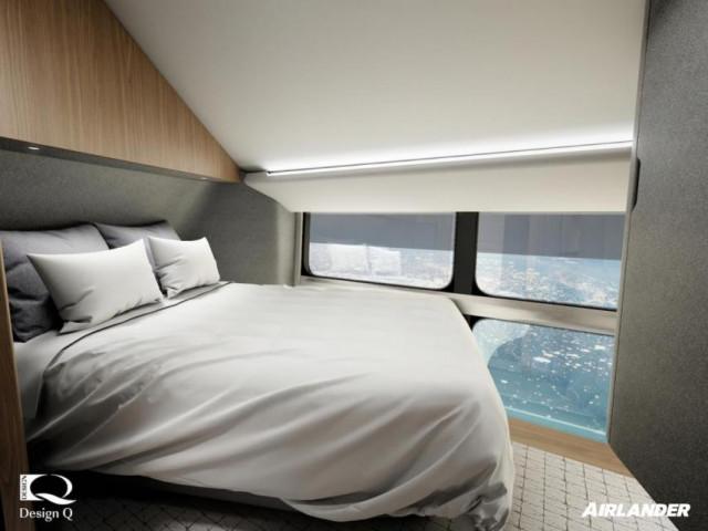 cama 0 - Airlander 10, la nueva aeronave de ultralujo con la que le darás un descanso a tu jet