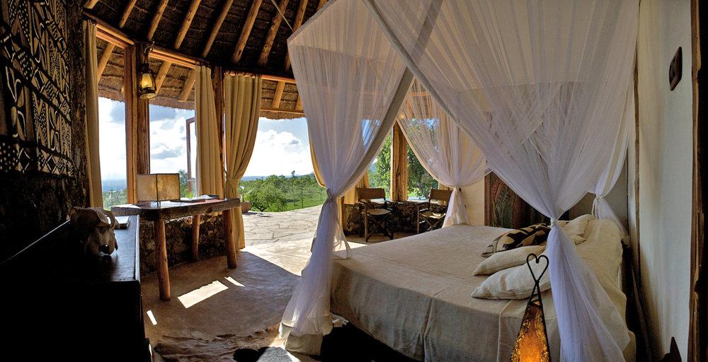 Campi ya Kanzi Kenya Pool cottage - Vive las vacaciones más verdes de tu vida en estos hoteles eco-friendly
