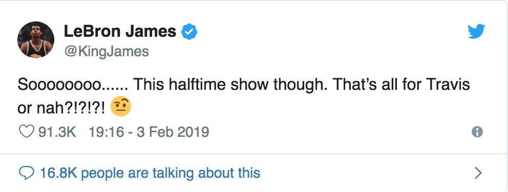 Captura de pantalla 2019 02 04 a las 9.53.07 a.m. - ¿Acaso fue éste el peor medio tiempo jamás visto en un Super Bowl?