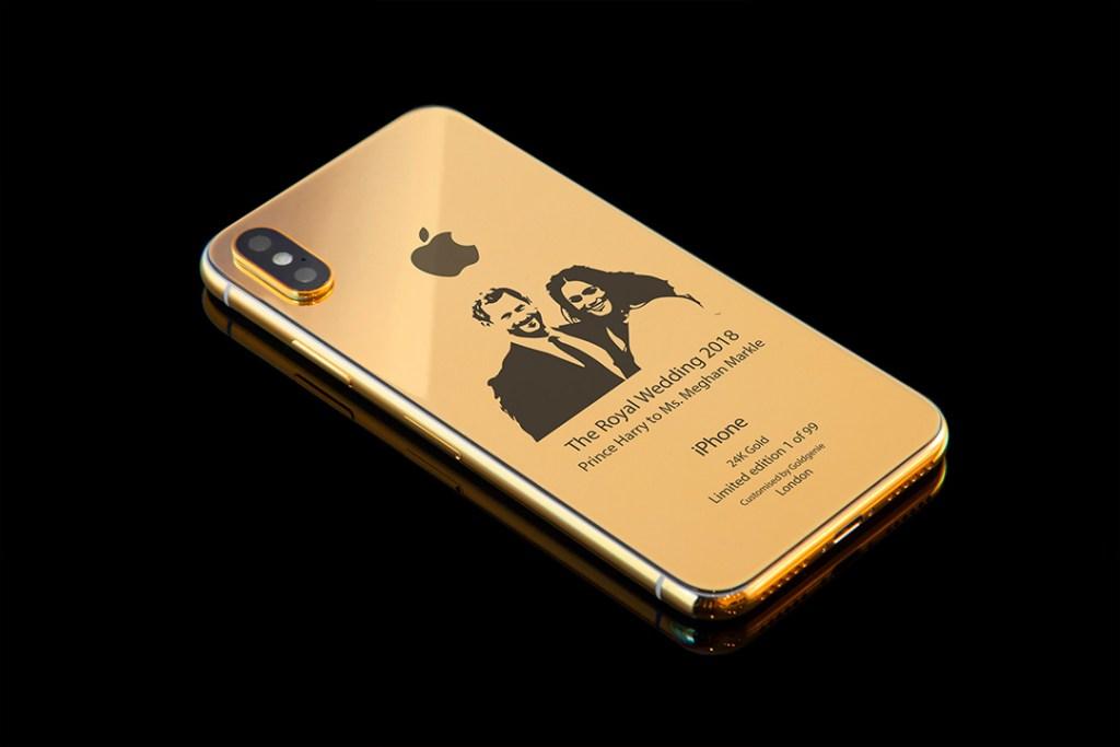 Celebra la boda entre Meghan y Harry con este iPhone X