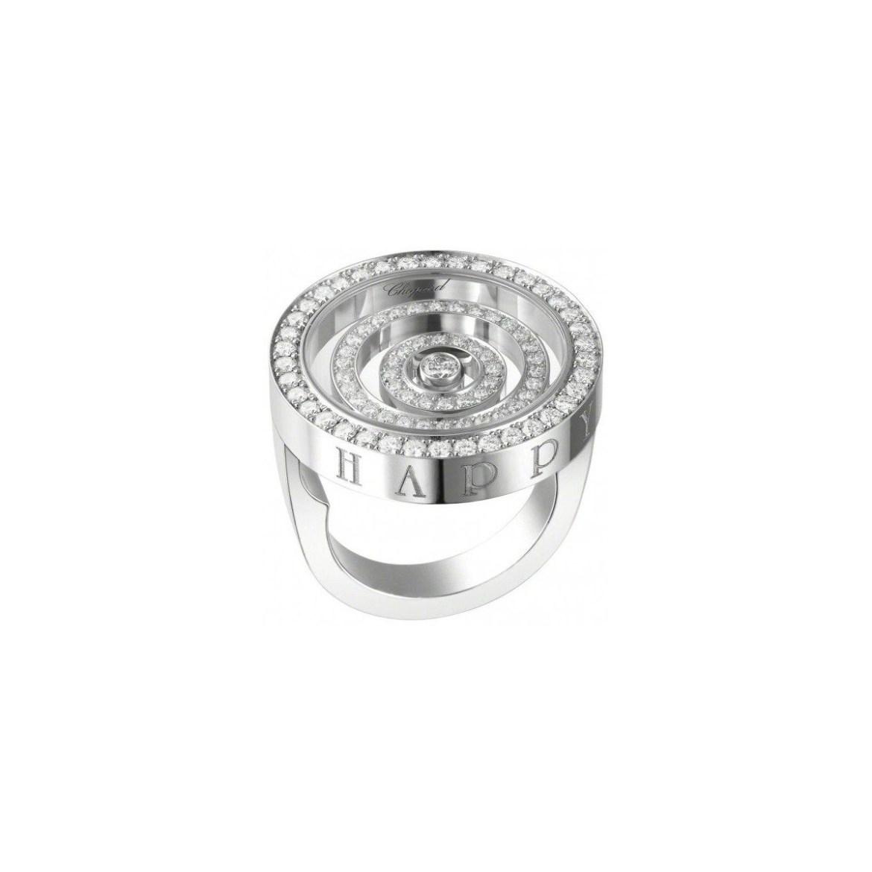 chopard happy spirit ring 18k white gold 825425 1110 - Con estos anillos harás surgir la pregunta: ¿te quieres casar conmigo?