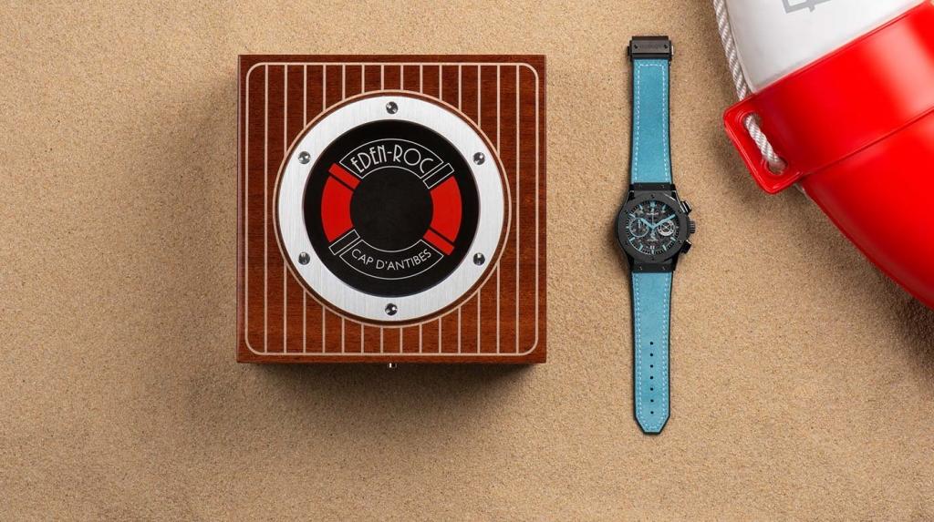classic fusion aerofusion chronograph eden roc lifestyle cover crop w1396 h781 1396x781 1024x573 - Hublot y el Hotel du Cap-Eden-Roc se unen para crear una pieza de colección