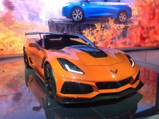 Corvette ZR1 1024x765 - Cinco joyas del Auto Show Internacional de Nueva York que debes tener en la mira
