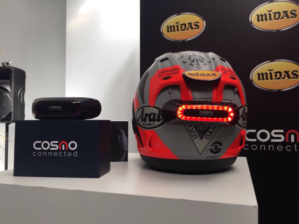 Cosmo Connected, el dispositivo que salvará las vidas de los motociclistas