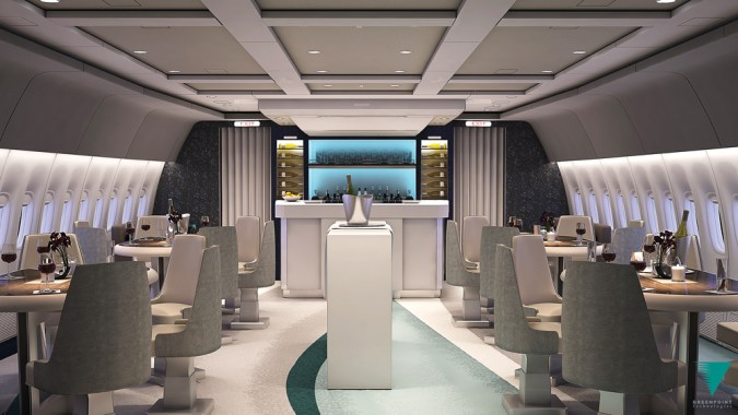crystal aircruises 2 - Quédate sin aliento con los interiores personalizados de estos jets privados