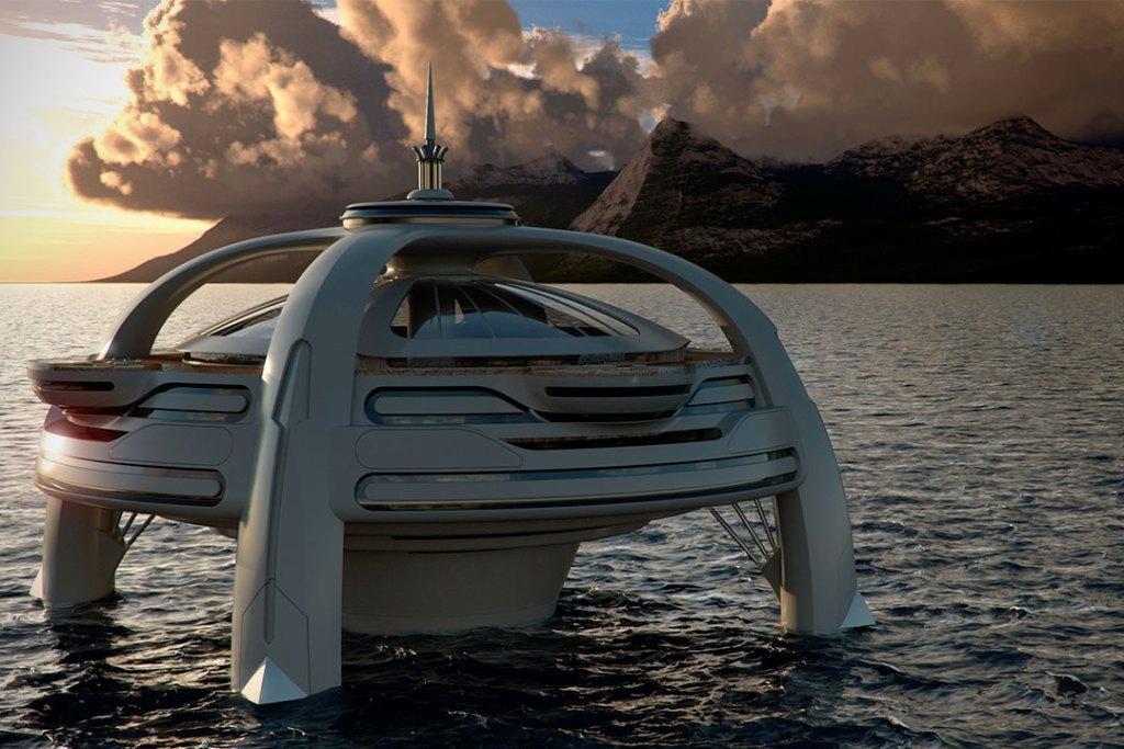 Project Utopia, la nueva isla flotante de Yacht Island