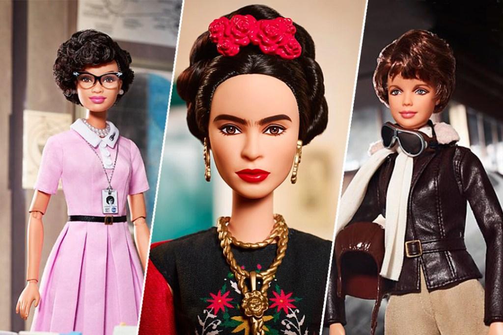 Barbie rinde homenaje a mujeres icónicas, entre ellas Frida Kahlo