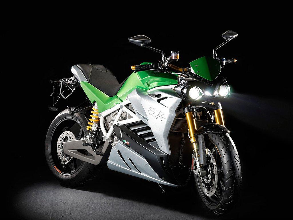 Energica Eva, una motocicleta completamente eléctrica