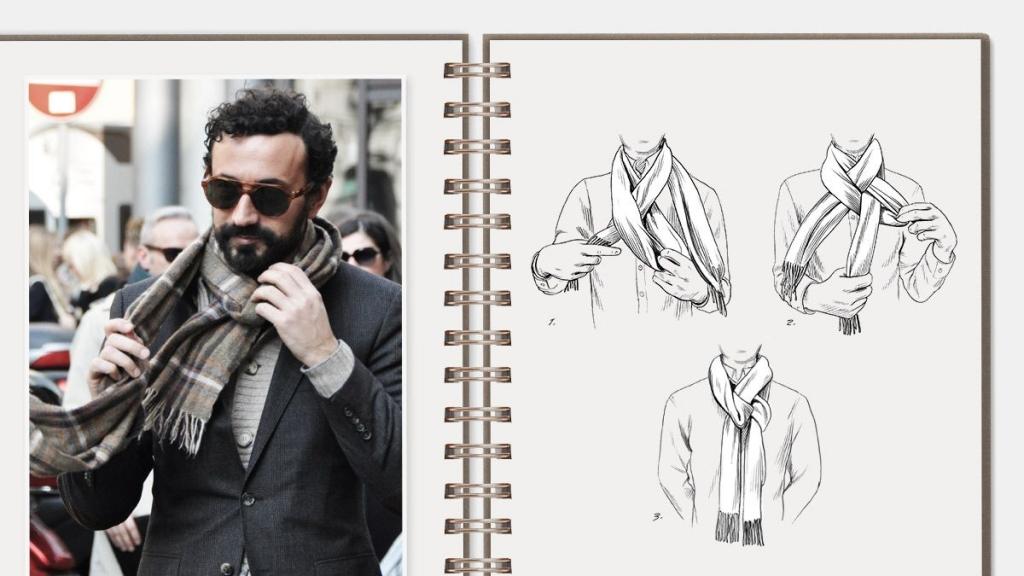 f7432319bc1a05c4599371f7e9061417 1024x576 - Te enseñamos nueve formas de usar tu bufanda este otoño
