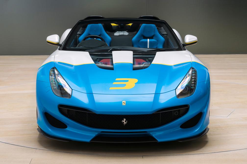 Ferrari SP3JC, el nuevo one-off del Cavallino Rampante