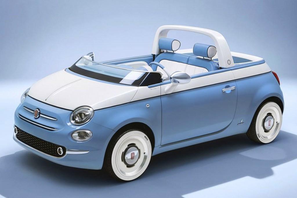 ¿Amas ir a la playa? El nuevo Fiat Spiaggina 58 viene con regadera integrada