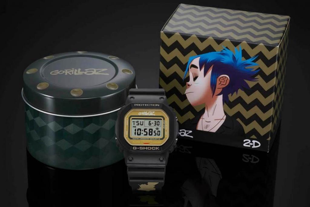 G Shock y Gorillaz 1024x683 - G-Shock presenta una edición especial en colaboración con Gorillaz