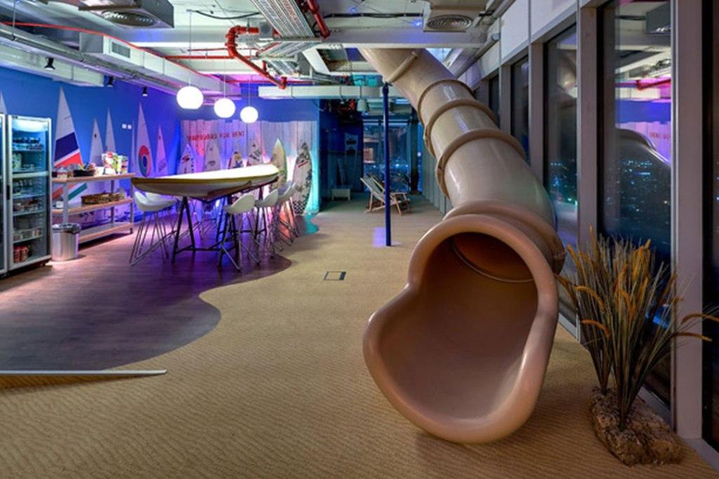 Las oficinas más geniales de Google en las que morirás por trabajar