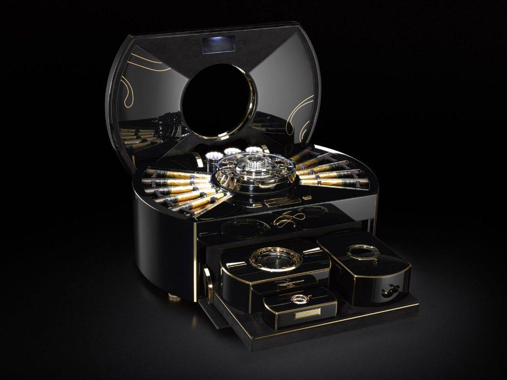 Una complejísima caja de puros