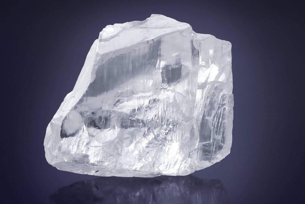 No es un iceberg, es uno de los diamantes más grande del mundo