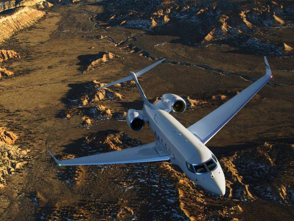 Surca el cielo abordo del Gulfstream G500