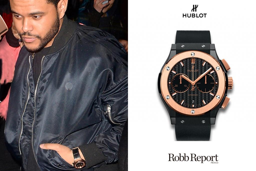 Hulbot 1024x683 - Estas son las marcas favoritas de lujo de The Weeknd
