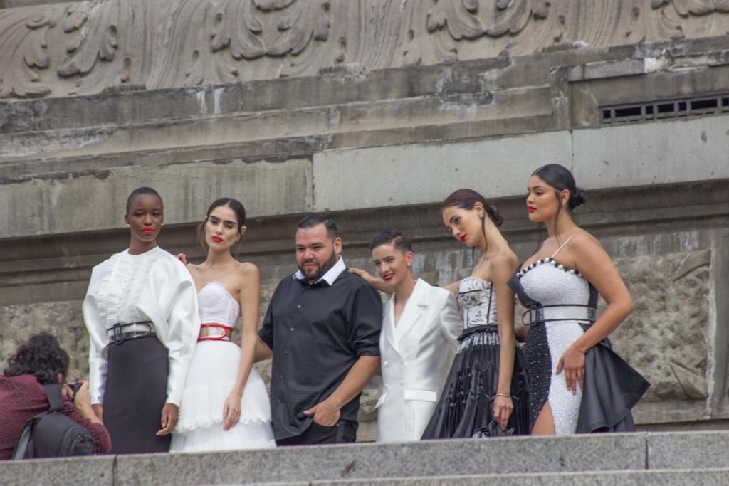 IMG 7020 1024x683 - Así se vivió el primer desfile del Mercedes-Benz Fashion Week en CDMX