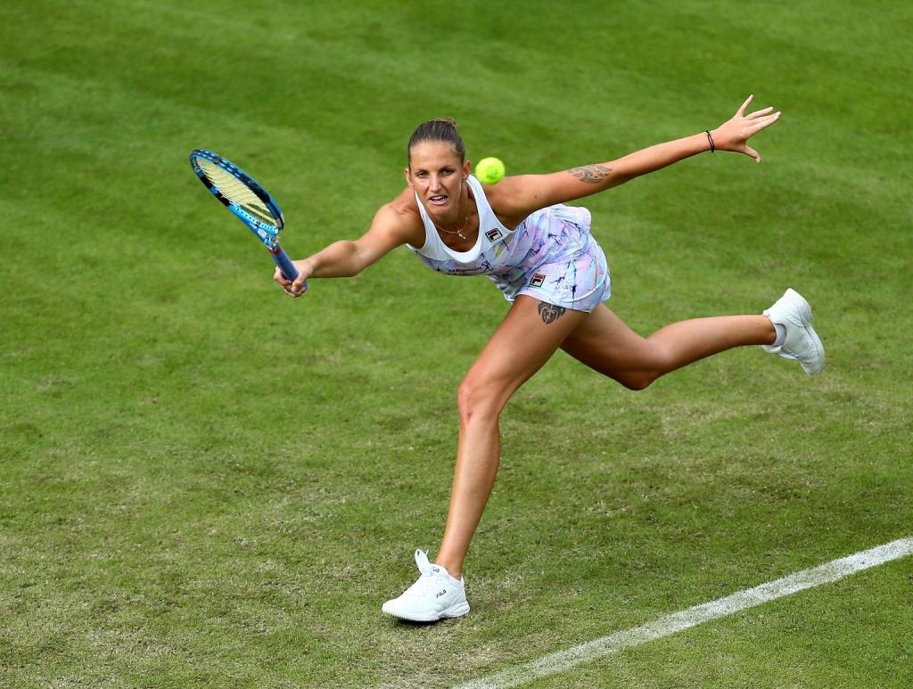 karolina pliskova getty 2018 1024x773 - El nuevo premio de Wimbledon 2018 te hará querer tomar clases de tenis
