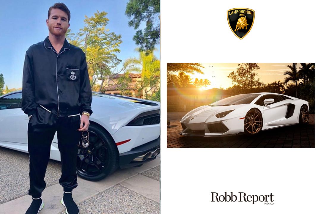 """Lamborghini Canelo - Estas son las marcas favoritas de lujo de Saúl """"Canelo"""" Álvarez"""