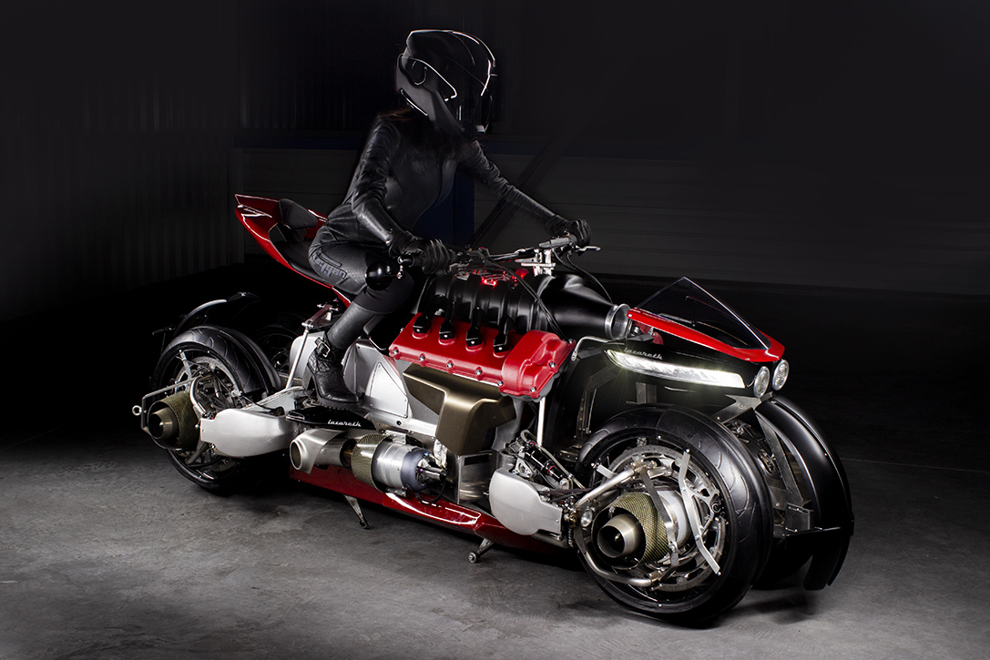 Lazareth La Moto Volante Hoverbike 1 - Lazareth Auto-Moto crea la primera moto cuadricóptero que puede volar
