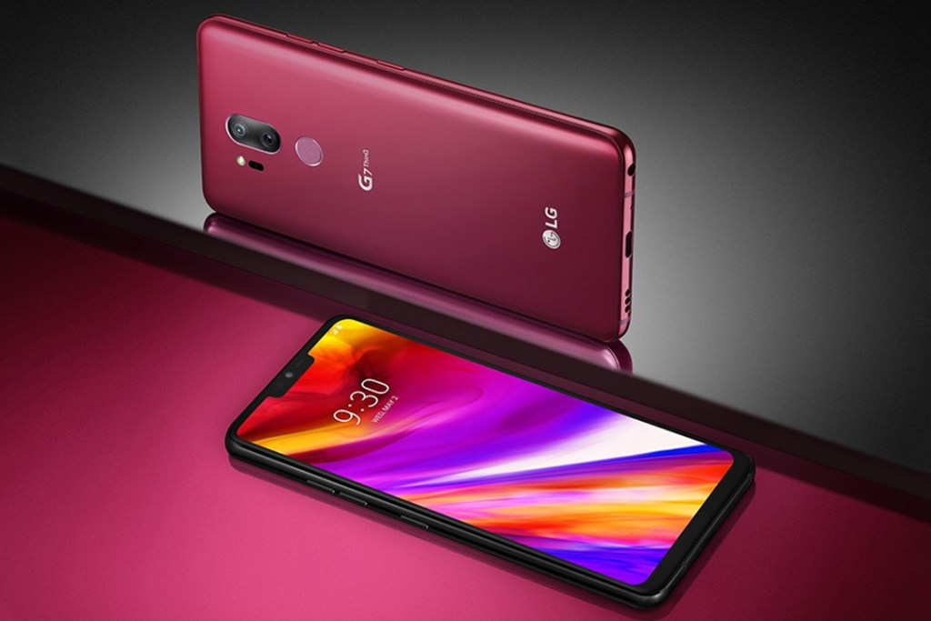 LG presenta el G7 ThinQ, su nueva arma en la batalla de los smartphones