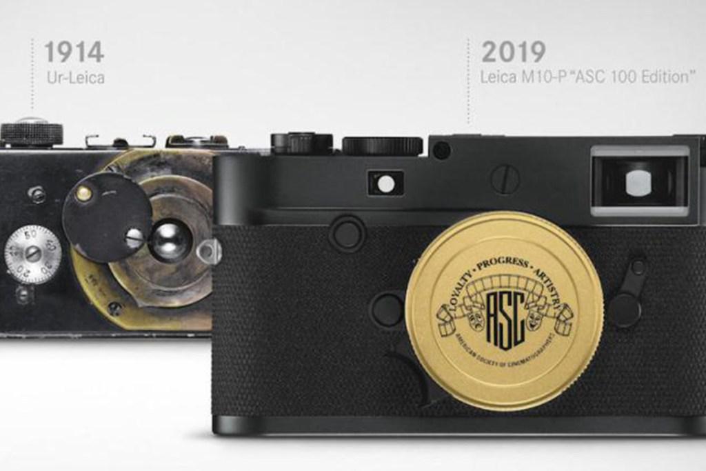 Esta es la cámara con la que Leica celebra los 100 años de la Sociedad Americana de Cinematógrafos