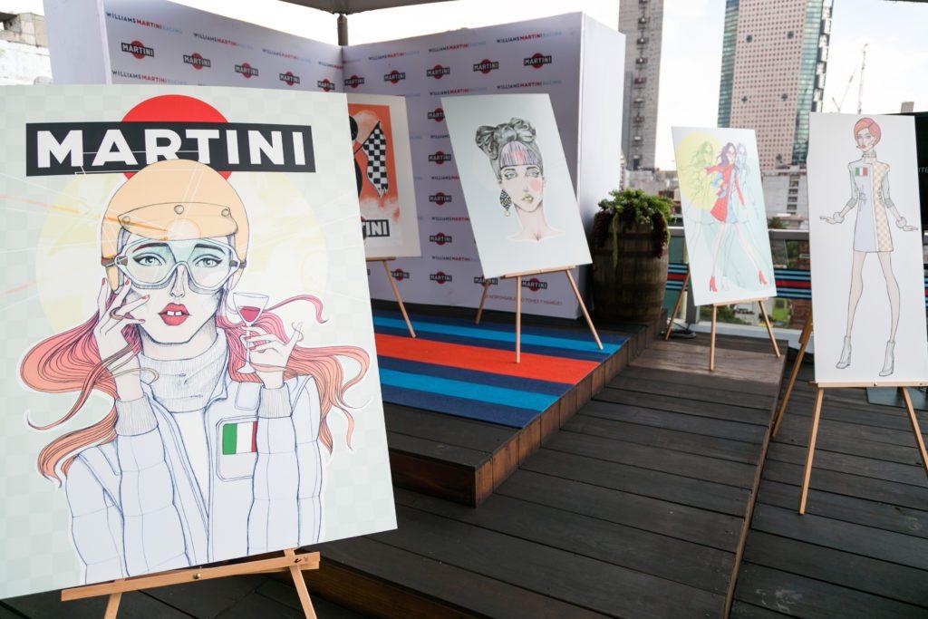 Martini recupera la moda dentro de la Fórmula 1