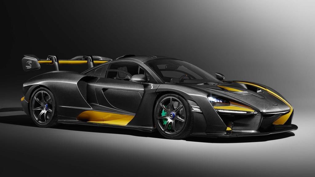 Así luce el modelo de carbono del McLaren Senna