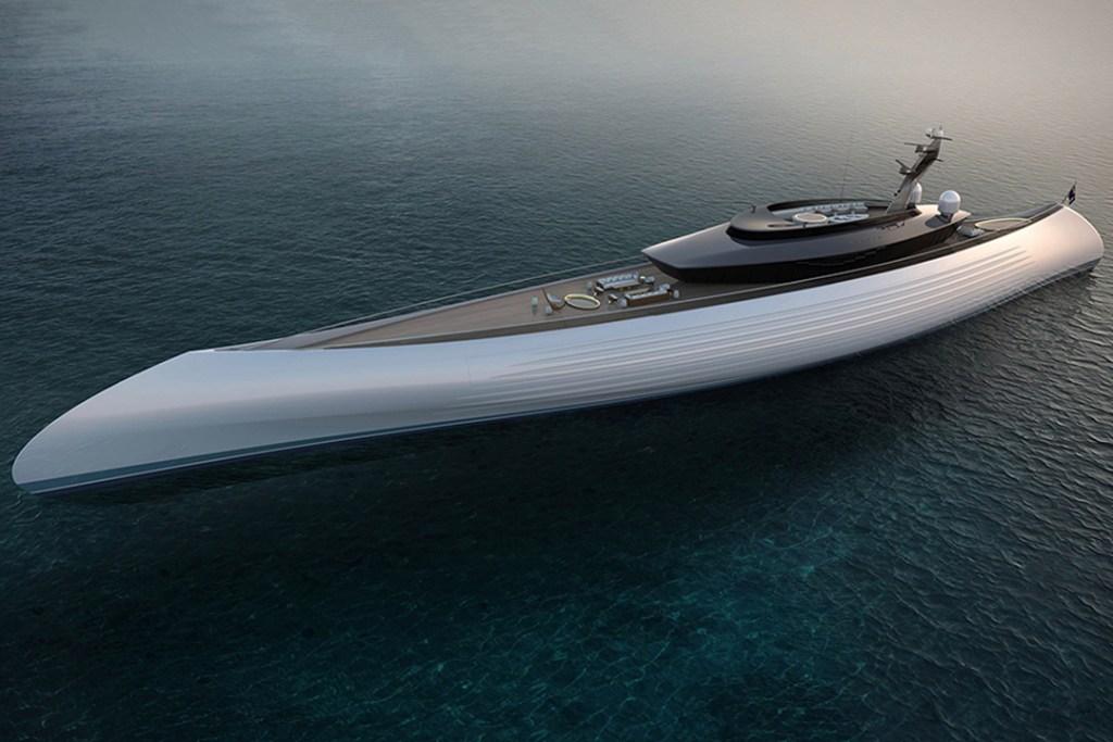 """El impresionante super yate de 115 metros que te hará decir: """"¡Todos a bordo!"""""""