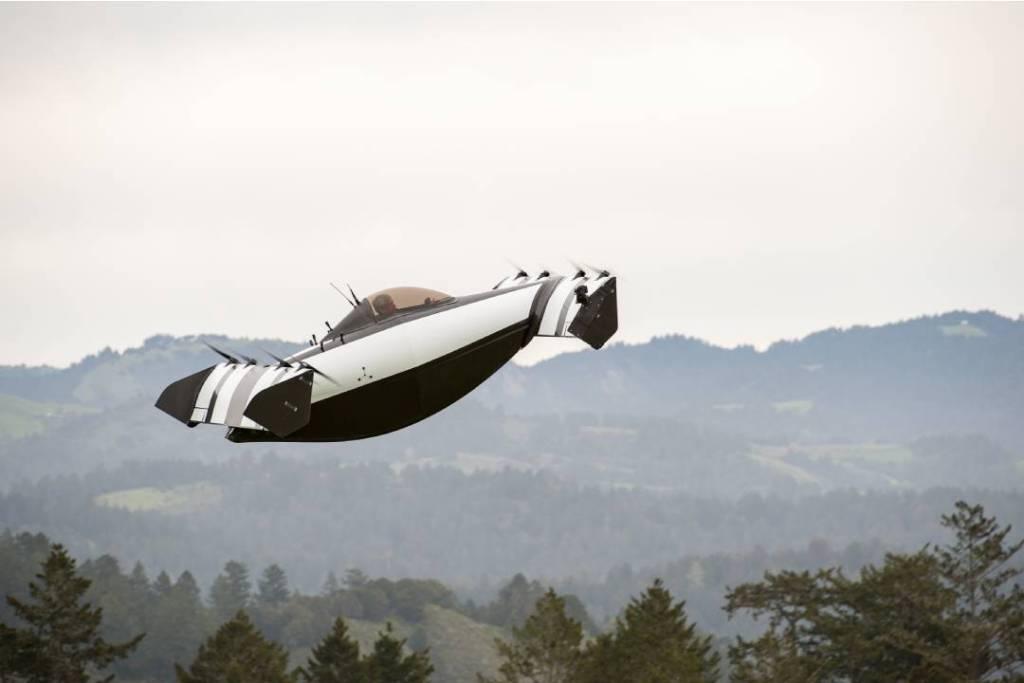Este es el primer auto volador completamente eléctrico