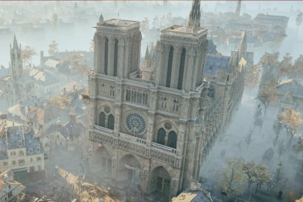 La restauración de Notre Dame podría basarse en este videojuego