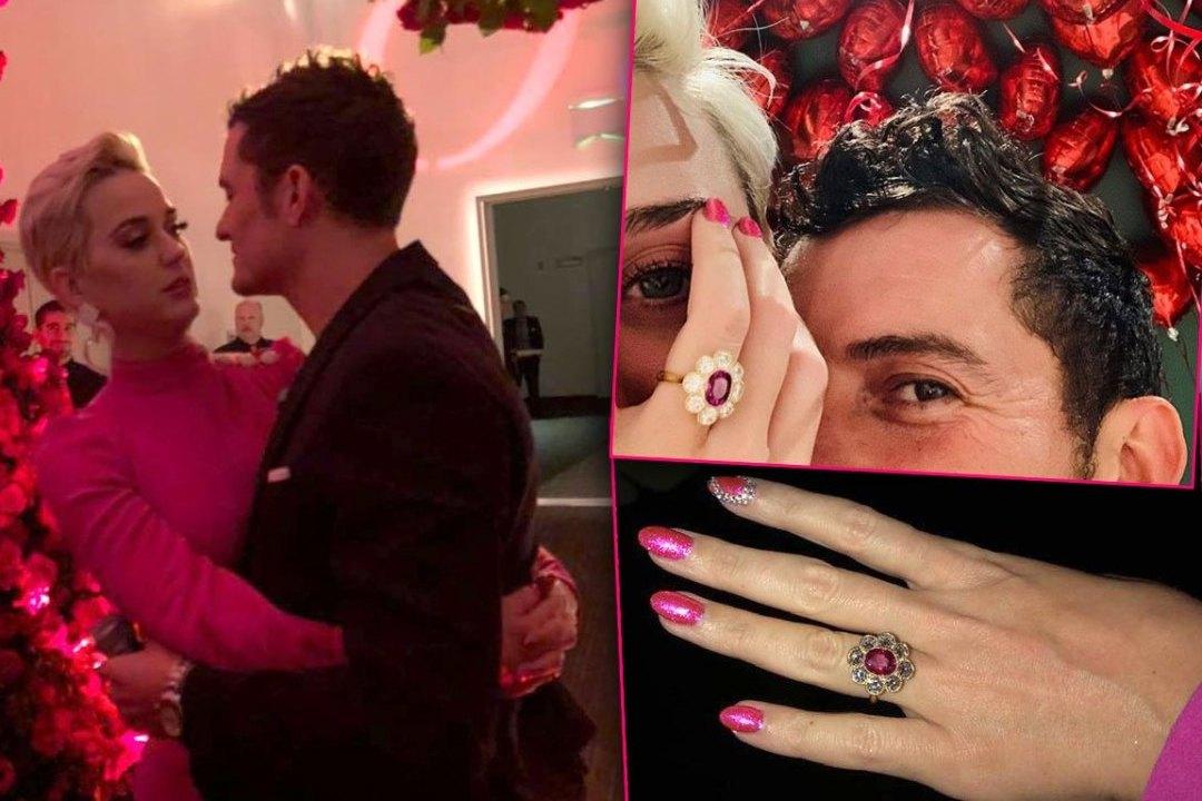 Orlando Bloom Katy Perry Engaged Ring Photos PP - El anillo de compromiso de Katy Perry costó 5 millones de dólares