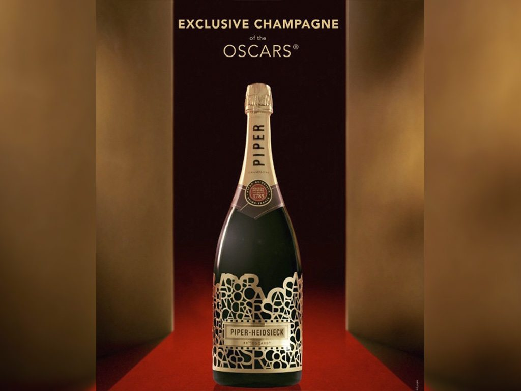 Piper-Heidsieck: Champagne oficial de los Óscares
