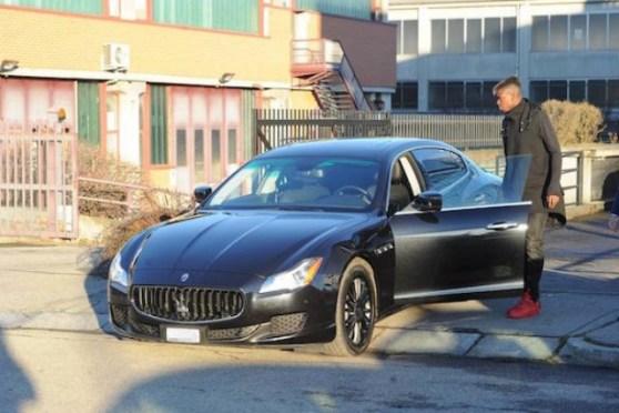 pogba maserati41 - Los 10 futbolistas que poseen los autos más lujosos en su garage