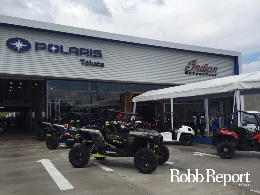 Polaris inaugura distribuidora en Toluca