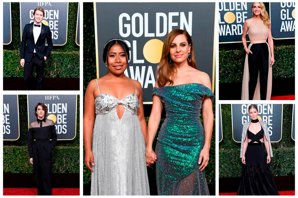 Estos fueron los looks que brillaron en los Golden Globes 2019