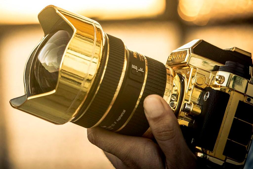 Estas versiones de cámaras Nikon fueron hechas para los amantes del lujo