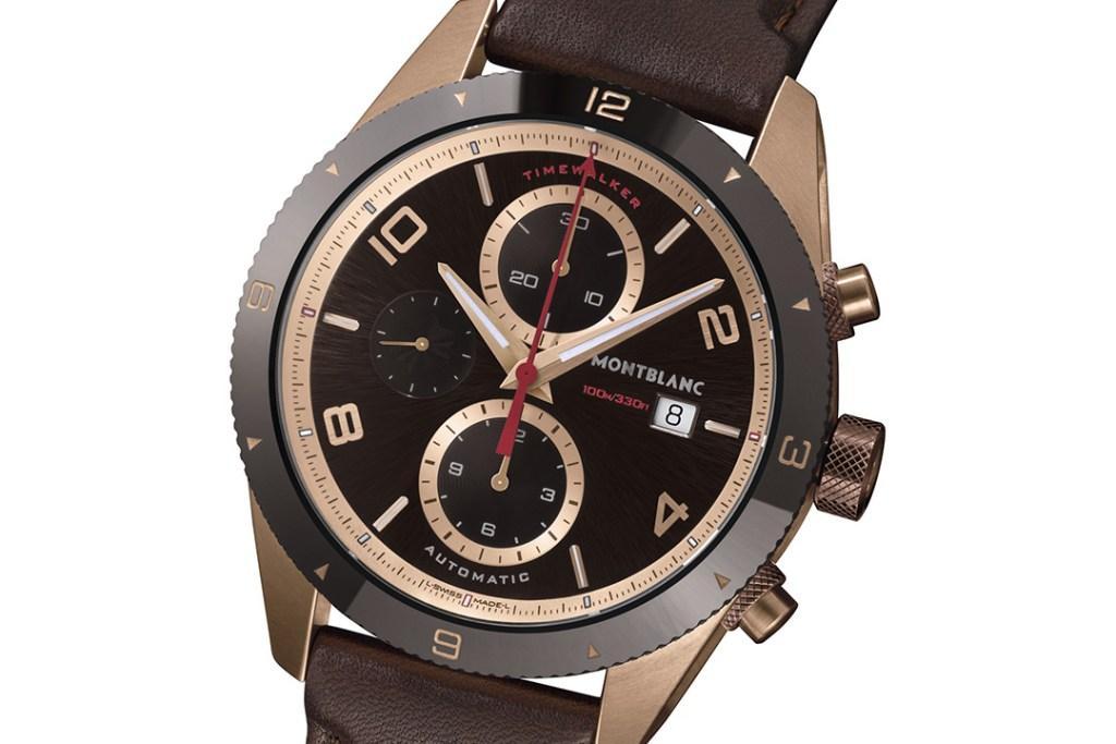 La época dorada del automovilismo está en el nuevo TimeWalker Automatic Chronograph de Montblanc