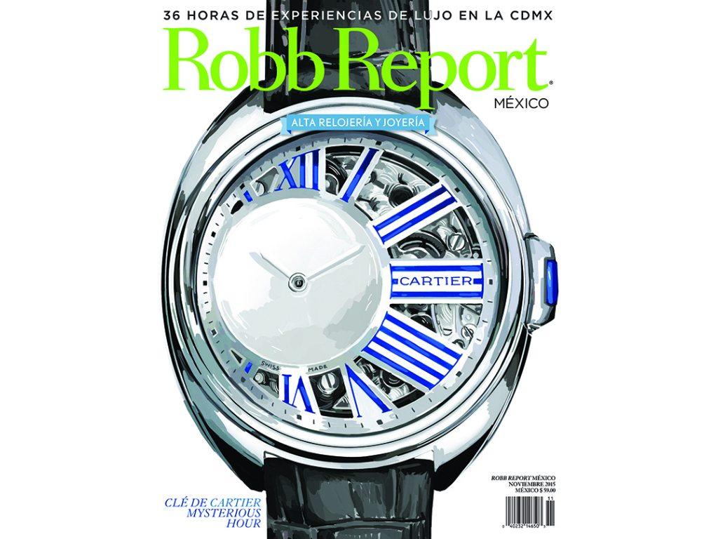 Se reveló la portada de noviembre de Robb Report México